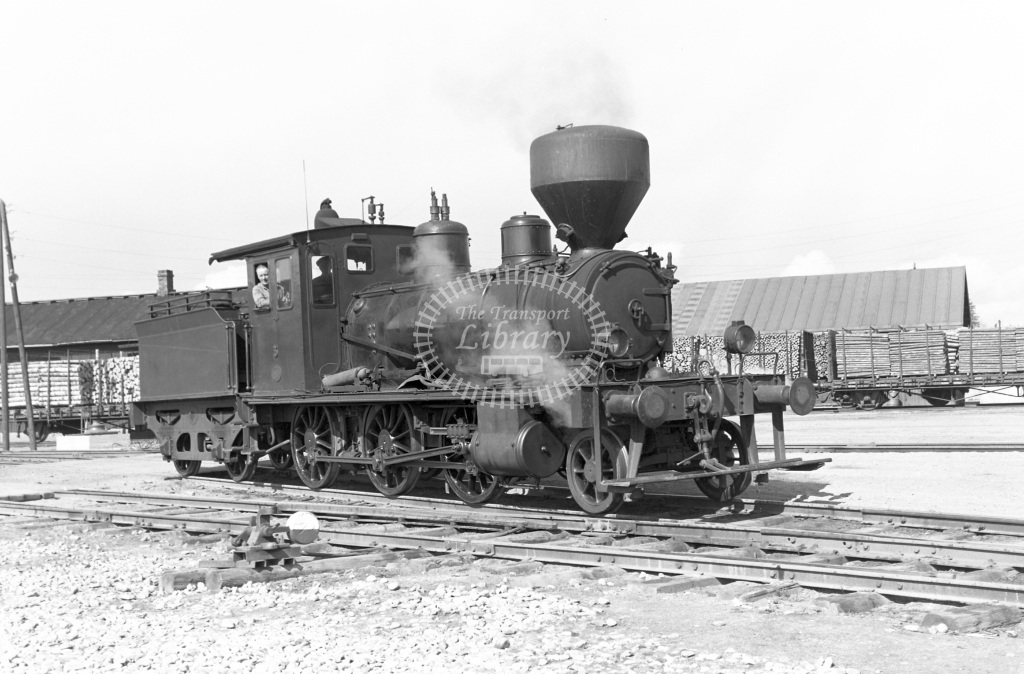 VR Finland Railways Steam Locomotive Class Vr 2-6-0 (Class not verified) 3  in 1962 -  01/05/1962  - Peter Gray