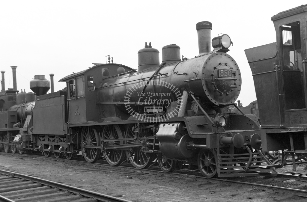 VR Finland Railways Steam Locomotive Class Vr Class Hv1 4-6-0 550  in 1962 -  01/05/1962  - Peter Gray