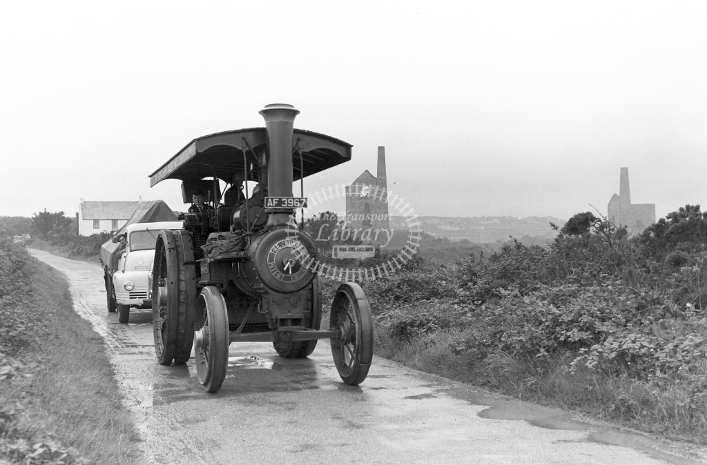 Private Operator Traction Engine Class Burrell AF 3967 Westward Ho!  in 1963 -  06/07/1963  - Peter Gray
