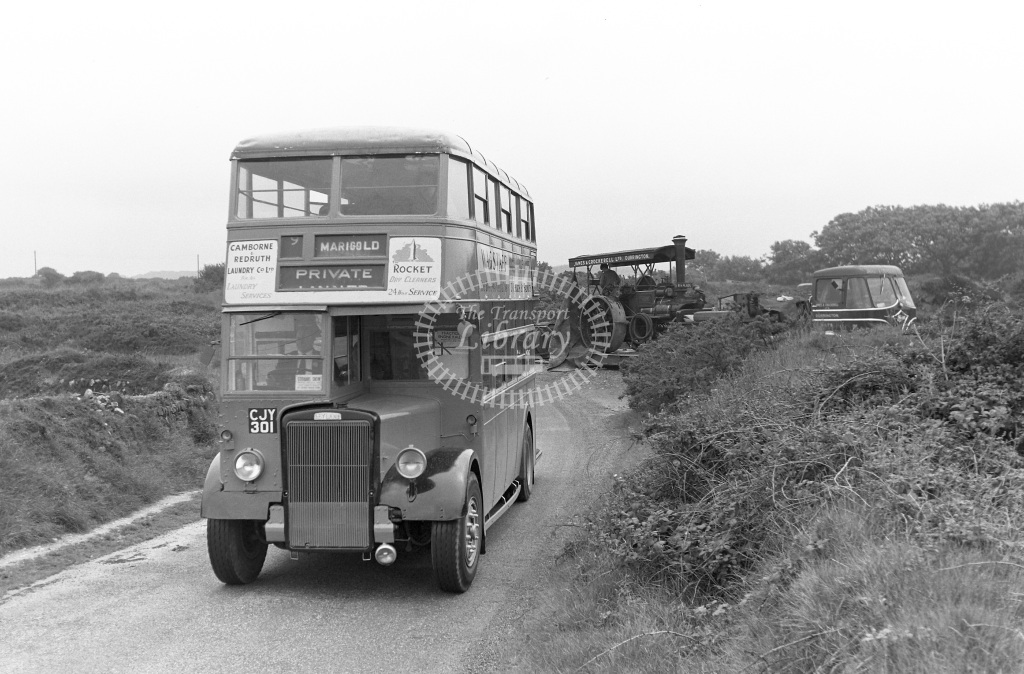 Private Operator Motor Bus Class 1946 Leyland PD1/Roe bodywork CJY 301  in 1963 -  06/07/1963  - Peter Gray