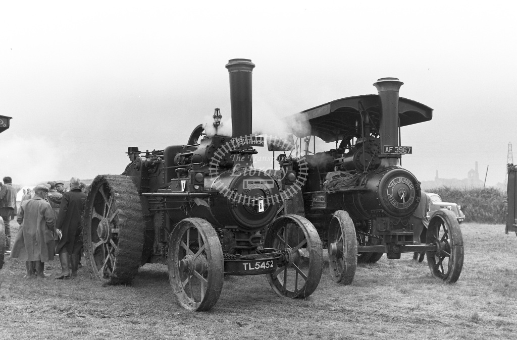 Private Operator Traction Engine Class Ruston & Hornsby  TL 5452 Trevithick  in 1963 -  06/07/1963  - Peter Gray