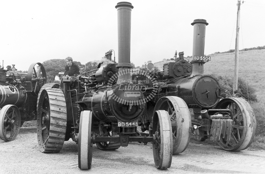 Private Owner Traction Engine Class McLaren General Purpose (b. 1896) BD5448 547 The Mac  at Camborne  in 1965 -  24/07/1965  - Peter Gray