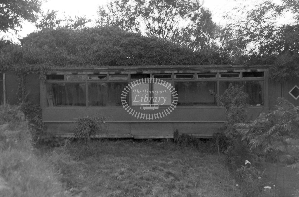 Private Owner Semi-derelict tram Class Ex-Torquay tram  at Chilsworthy  in 1965 -  17/08/1965  - Peter Gray