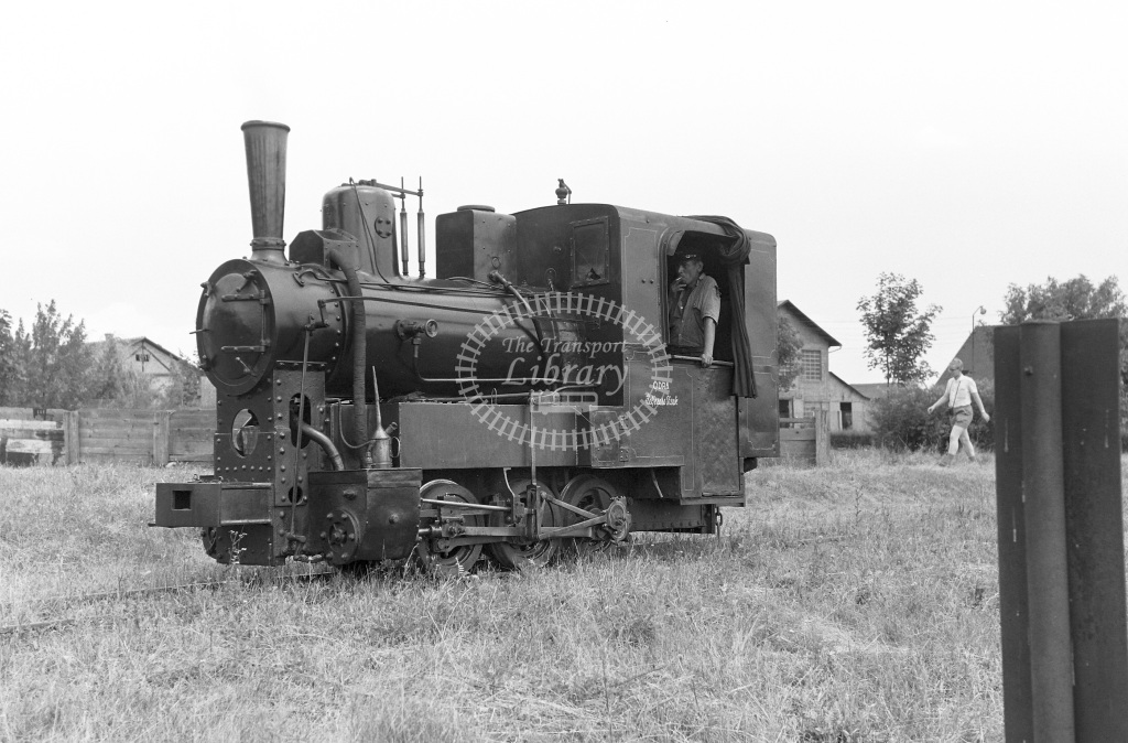 Zeljezara Steelworks Steam Locomotive Class 0-6-0 No details Odna  at Sisak Steelworks  in 1966 -  07/07/1966  - Peter Gray