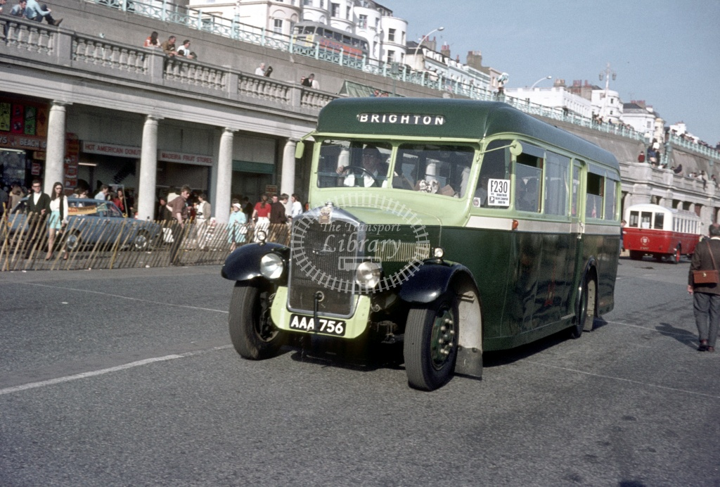 King Alfred Albion PK1114 AAA756 at Brighton Rally in 1970 - May 1970 - Peter Henson