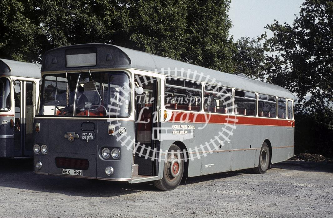 West Wales, Tycroes Leyland PSU3/3R 60 MBX86H at Garage in 1980 - 29434 - Peter Henson