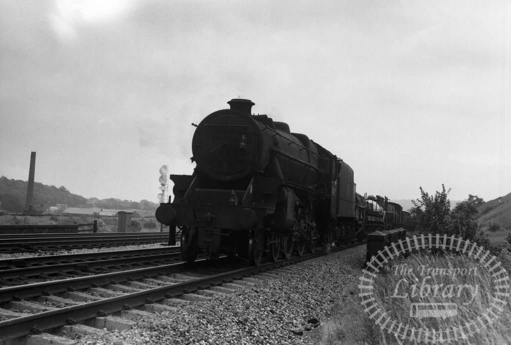BR British Railways Steam Locomotive Class BLACK 44771  at Heaton Lodge in 1966 - 01/01/1966 - Peter Hay
