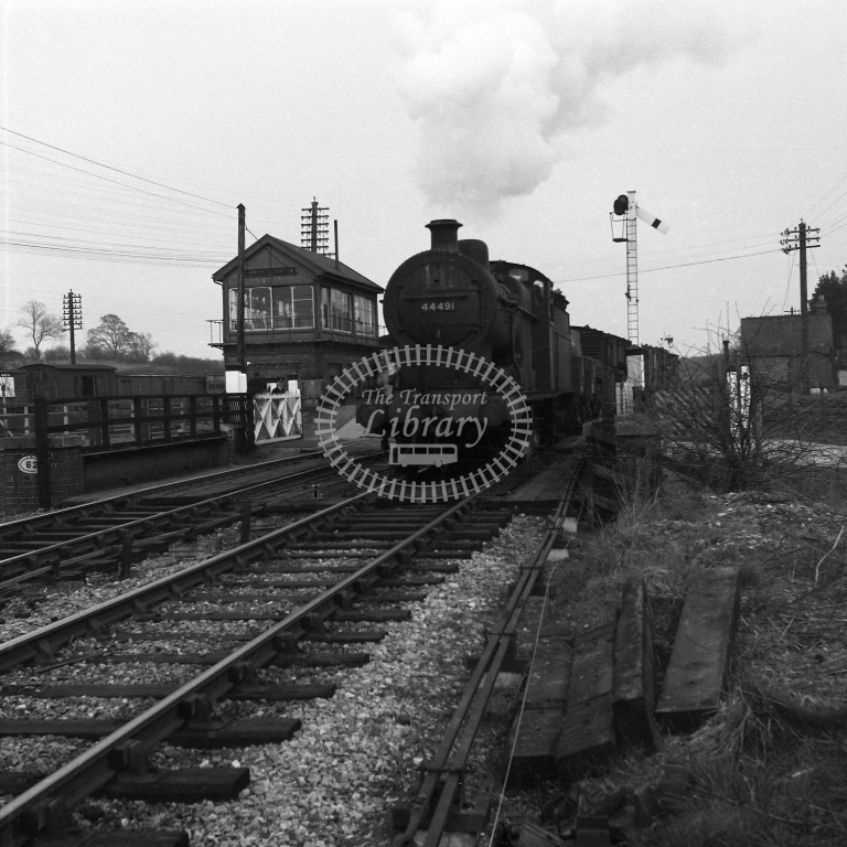 44491 on frt lvg Fenny Compton 17/4/56 - RCR7034 - R C Riley