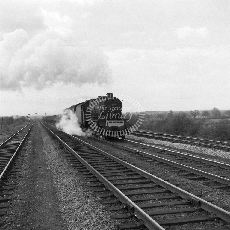 48526 Up frt Fosse Road 19/4/56 - RCR7092 - R C Riley