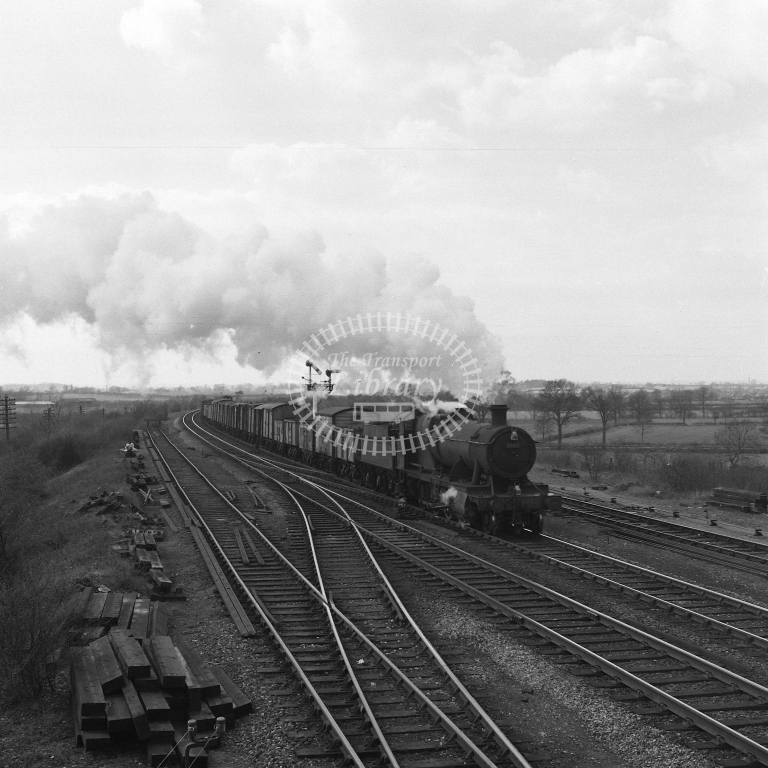2867 Up frt Fosse Road 19/4/56 - RCR7094 - R C Riley