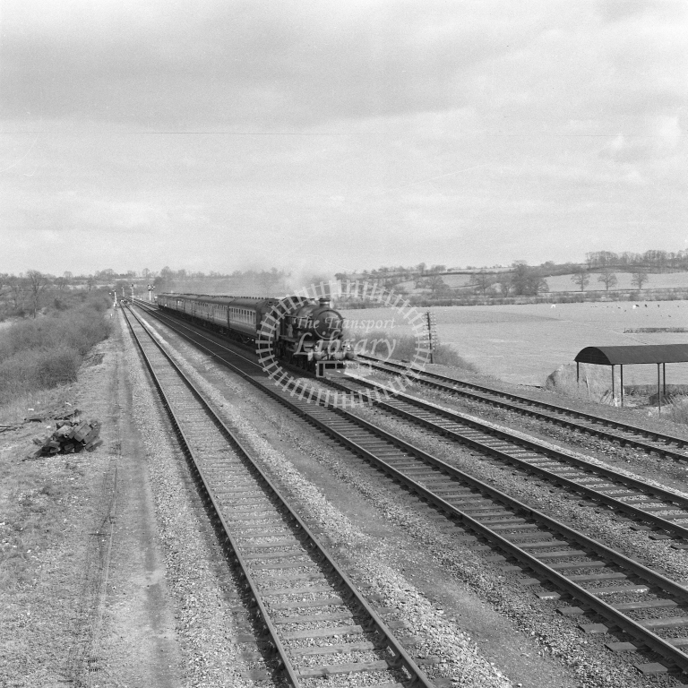 5033 Dn Hast-BHD, Fosse Road 19/4/56 - RCR7096 - R C Riley