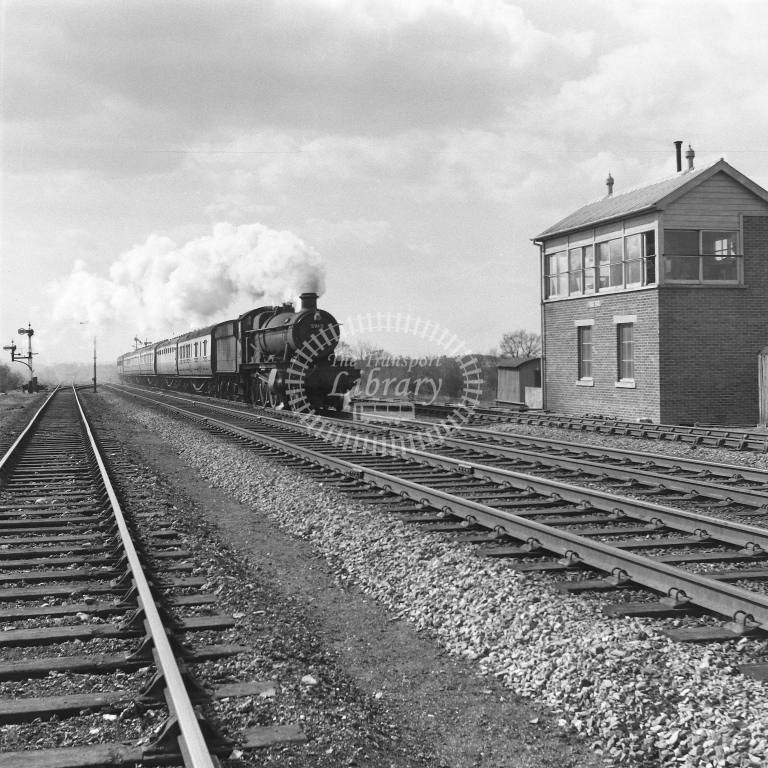 5960 Up LMTN-OXF, Fosse Road 19/4/56 - RCR7097 - R C Riley