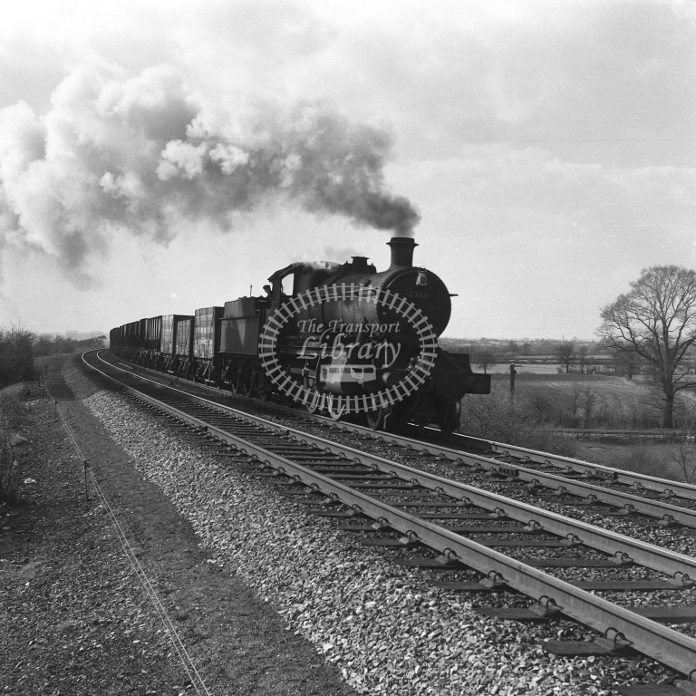 6335 Up frt Fosse Road 19/4/56 - RCR7099 - R C Riley