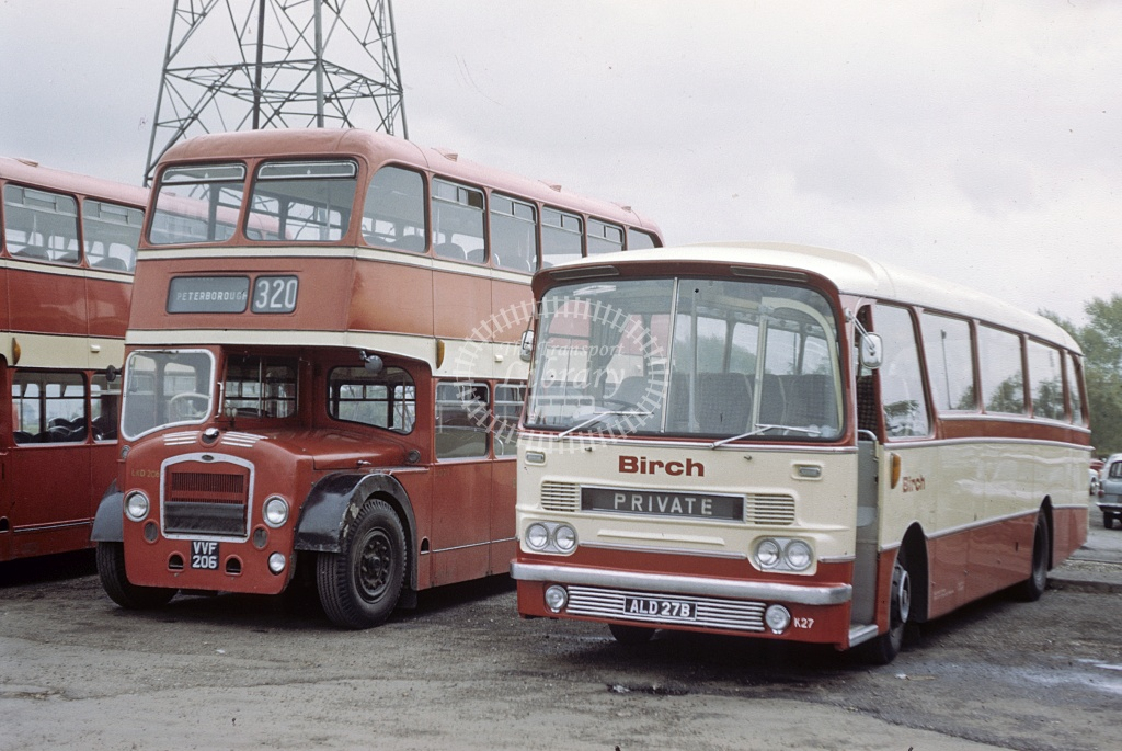 Birch Bros AEC Reliance K27 ALD27B at Garage in Undated - Robin Hannay