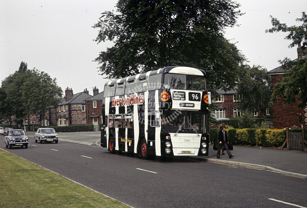 SELNEC Leyland AN68 7069 VNB169L at Kingsway in Undated - Robin Hannay