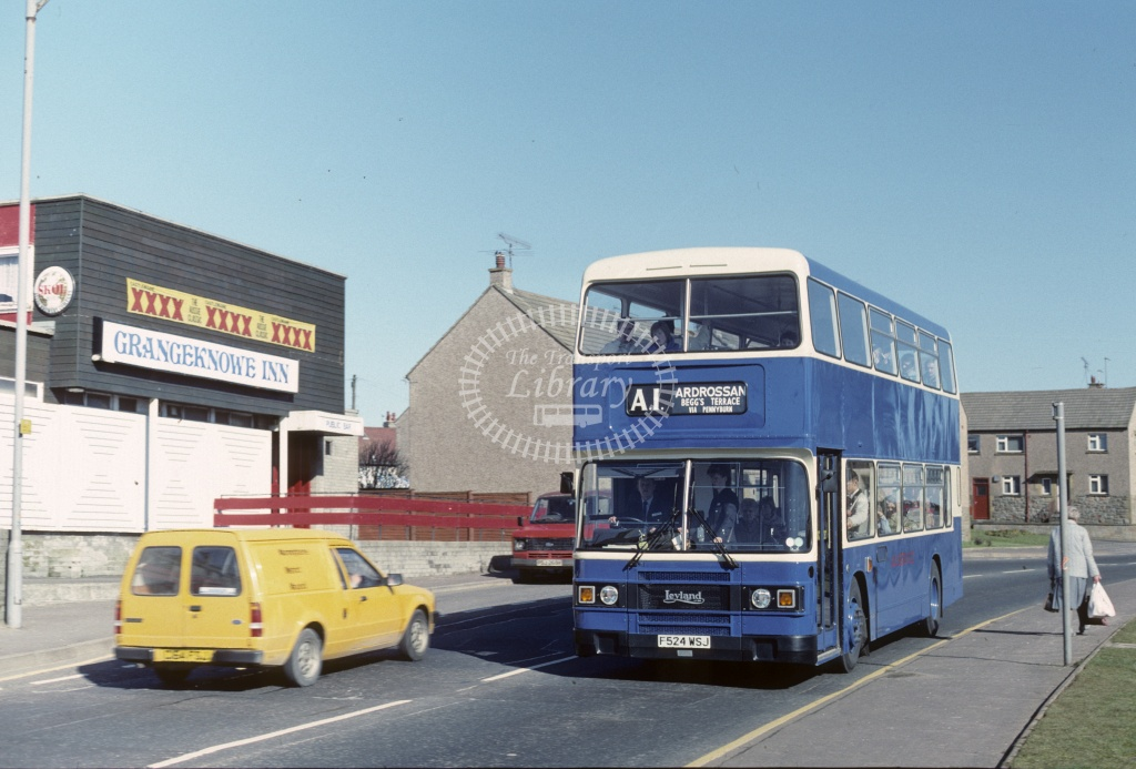 A1 (Hill) Leyland ONCL F524WSJ in Undated - Robin Hannay