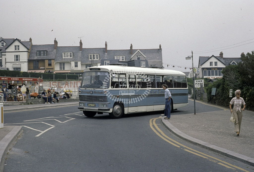 Blue Coaches, Ilfracombe Bedford SB3 PTA777M in Undated - Robin Hannay