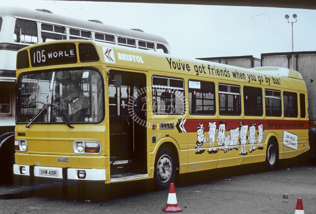 Bristol Leyland National 3040 OHW491R in Undated - Robin Hannay