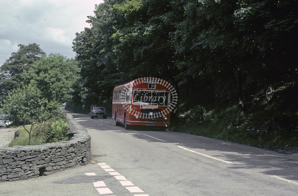 Cumberland Bristol RELL 273 OAO273F at Borrowdale valley in 1980 - 29373 - Robin Hannay