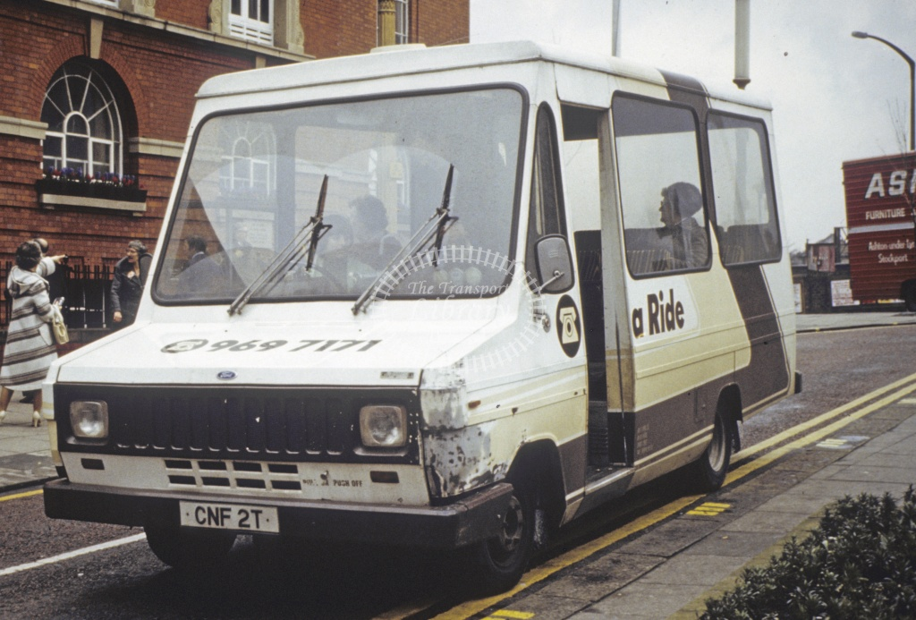 Dial A Ride, Sale (GMPTE) Ford Transit CNF2T in Undated - Apr 1992 - Robin Hannay