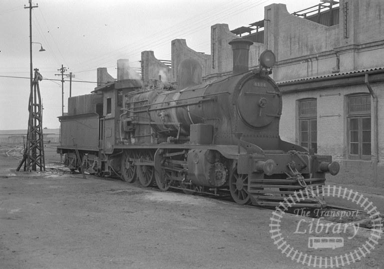 Argentina Ferrocarril General Roca Steam Locomotive Class 2-8-0 4194  at Olavarria in 1974 - Tommy Farr