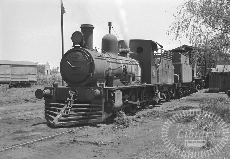 Argentina Ferrocarril General Urquiza Steam Locomotive Class 0-6-0 22  at Monte Caseros in 1974 - Tommy Farr