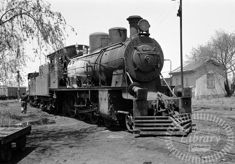 Argentina Ferrocarril General Urquiza Steam Locomotive Class 4-6-2 91  at Monte Caseros in 1974 - Tommy Farr
