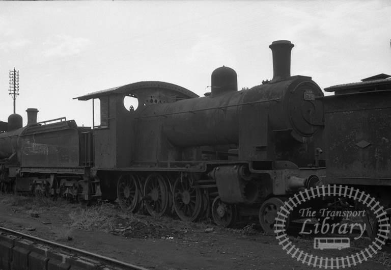 CGR Ceylon Government Railways Steam Locomotive Class B8A 219  at Dematagoda in 1976 - Tommy Farr