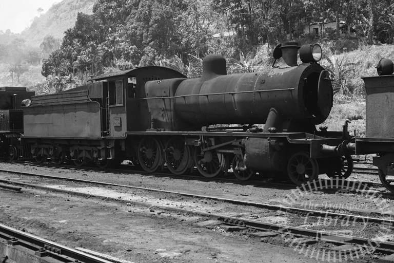 CGR Ceylon Government Railways Steam Locomotive Class B1B 279  at Nawalapitya in 1976 - Tommy Farr