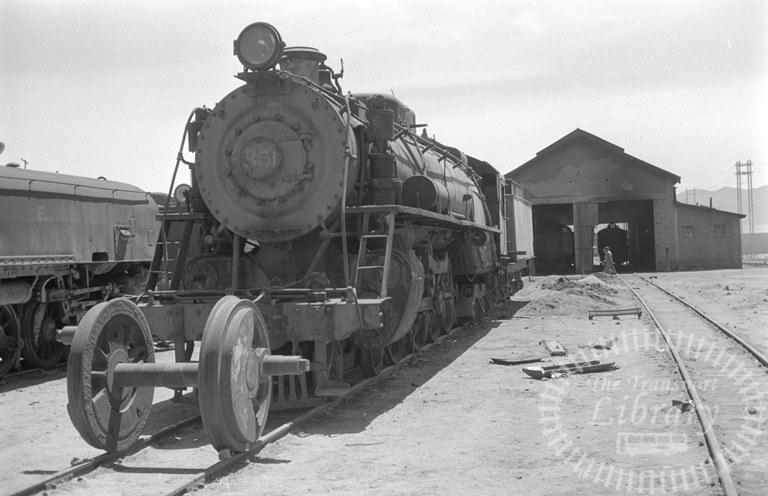 Bolvia Railways Empressa Ferrocarril Nacional de Bolivia Steam Locomotive Class 2-8-0 851  at Uyuni Shed in 1974 - Tommy Farr