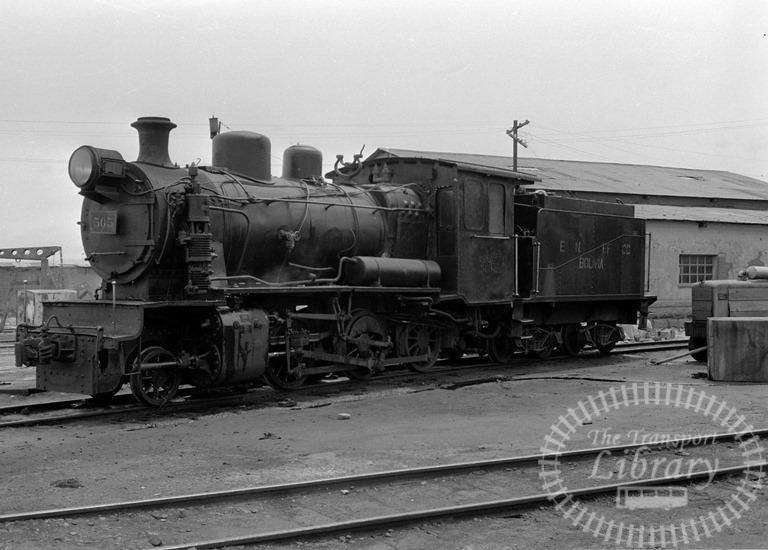 Bolvia Railways Empressa Ferrocarril Nacional de Bolivia Steam Locomotive Class 2-6-0 505  at Viacha in 1974 - Tommy Farr