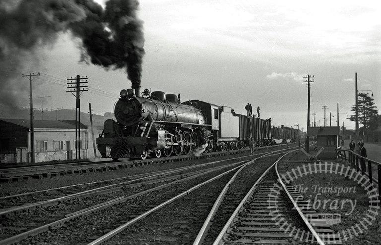 FCE Chile Railways Steam Locomotive Class 80 856  at Temuco in 1974 - Tommy Farr