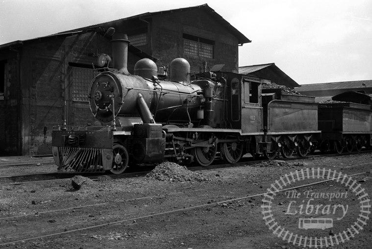 FCE Chile Railways Steam Locomotive Class 57 617  at Osorno in 1974 - Tommy Farr