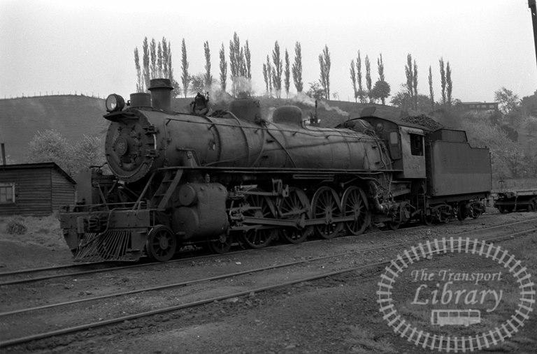 FCE Chile Railways Steam Locomotive Class 80 867  at Osorno in 1974 - Tommy Farr