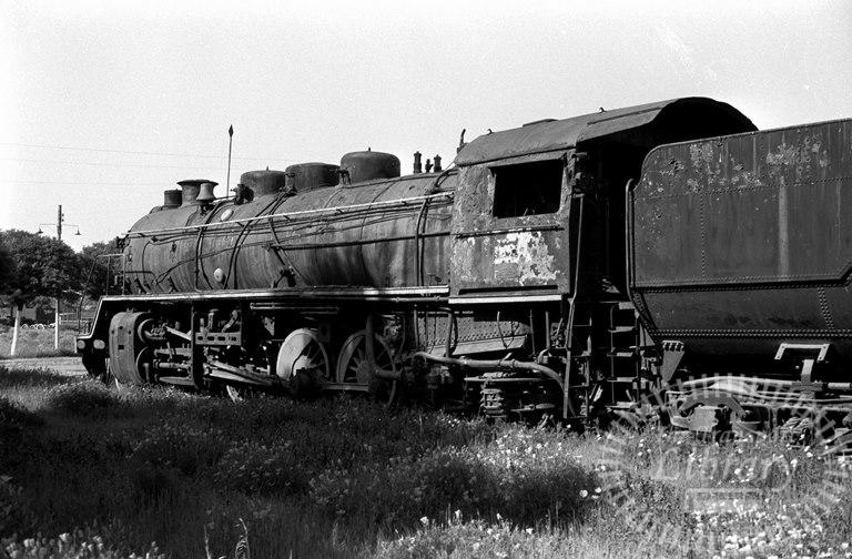 FCE Chile Railways Steam Locomotive Class 90 903  at San Bernardo in 1974 - Tommy Farr