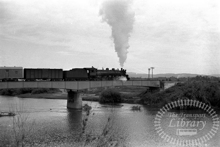 FCE Chile Railways Steam Locomotive Class 80 868  at Temuco in 1974 - Tommy Farr
