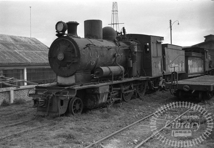 FCE Chile Railways Steam Locomotive Class Q 3076  at Los Lagos in 1974 - Tommy Farr