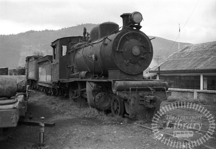 FCE Chile Railways Steam Locomotive Class Q 3227  at Los Lagos in 1974 - Tommy Farr