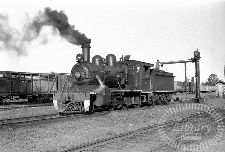FCE Chile Railways Steam Locomotive Class 57 585  at Antilhue in 1974 - Tommy Farr