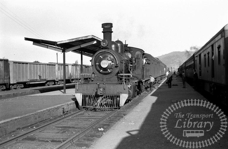 FCE Chile Railways Steam Locomotive Class 57 578  at Antilhue in 1974 - Tommy Farr