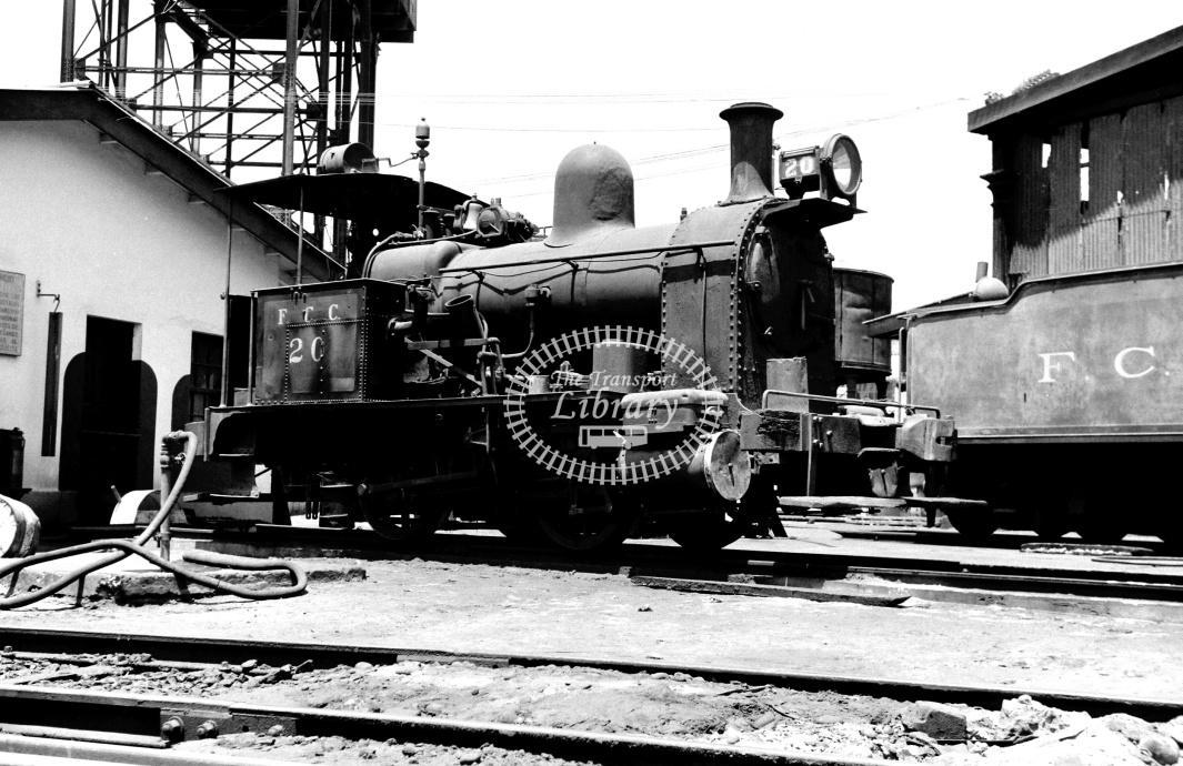 Peru FC Central Steam Locomotive 20  at Callao in 1970 - 22/01/1970 - D Trevor Rowe