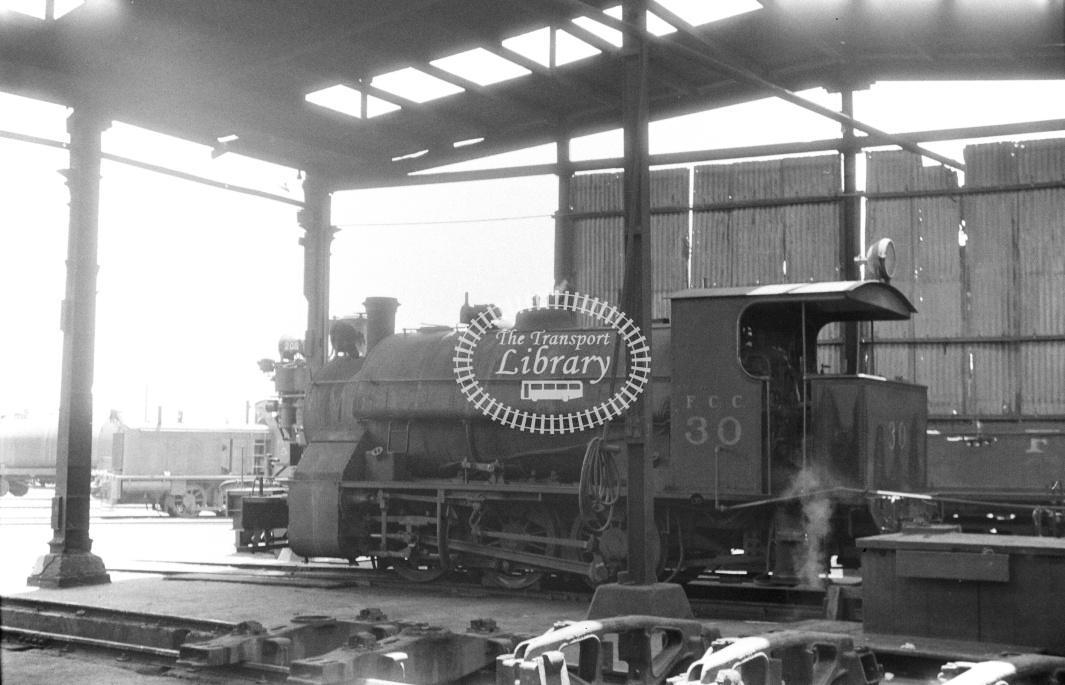 Peru FC Central Steam Locomotive 30  at Callao in 1970 - 22/01/1970 - D Trevor Rowe