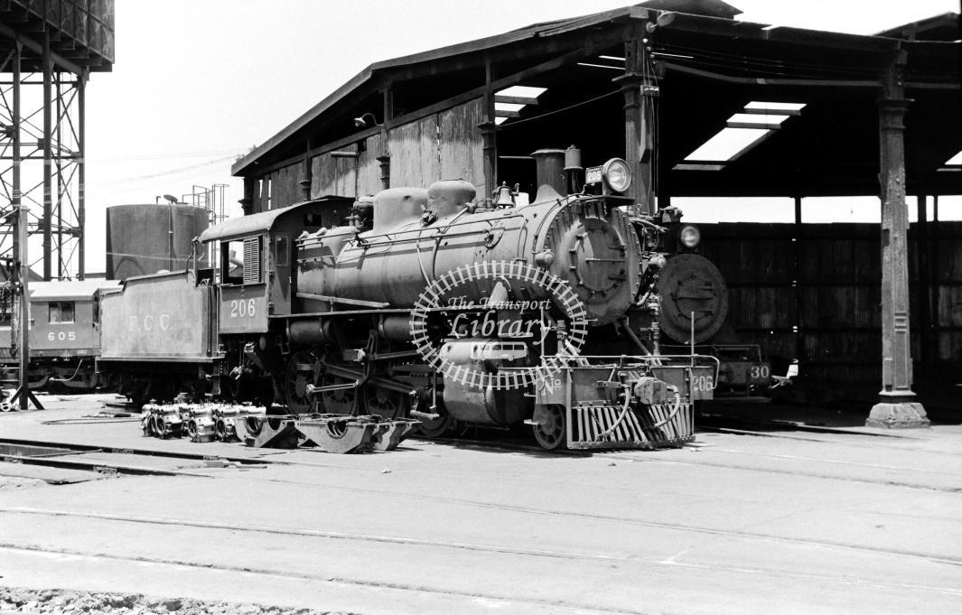 Peru FC Central Steam Locomotive 206  at Callao in 1970 - 22/01/1970 - D Trevor Rowe