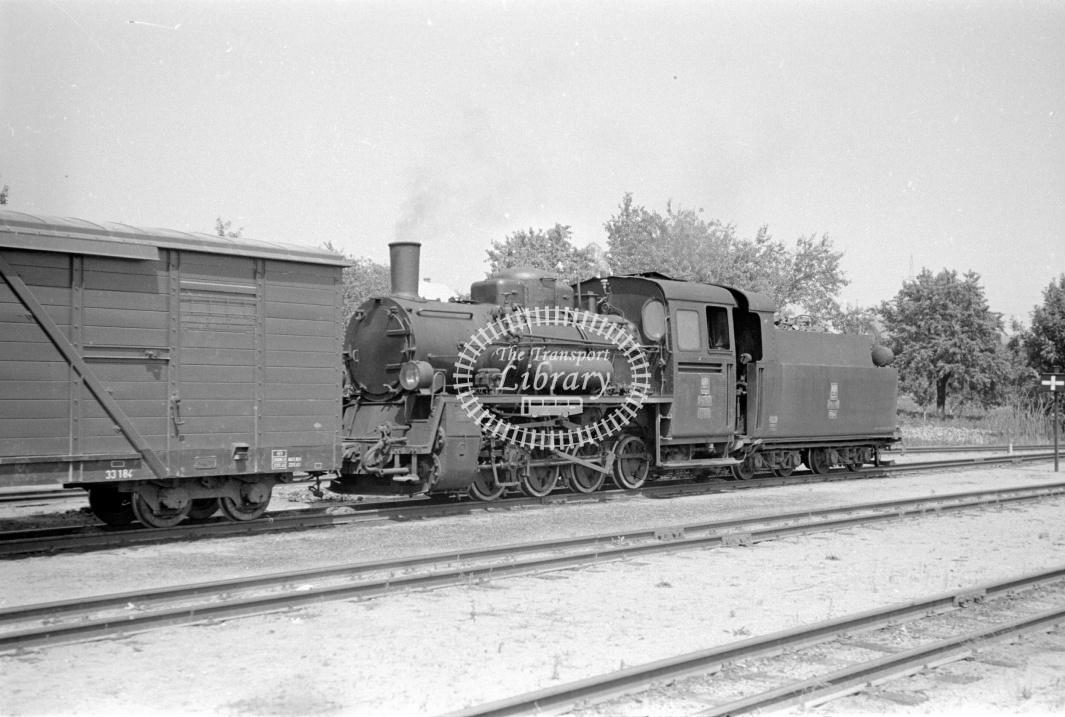 PKP Poland Railways Steam Locomotive Class Px48 PX48 1724  at Patnow in 1961 - 03/07/1961 - D Trevor Rowe