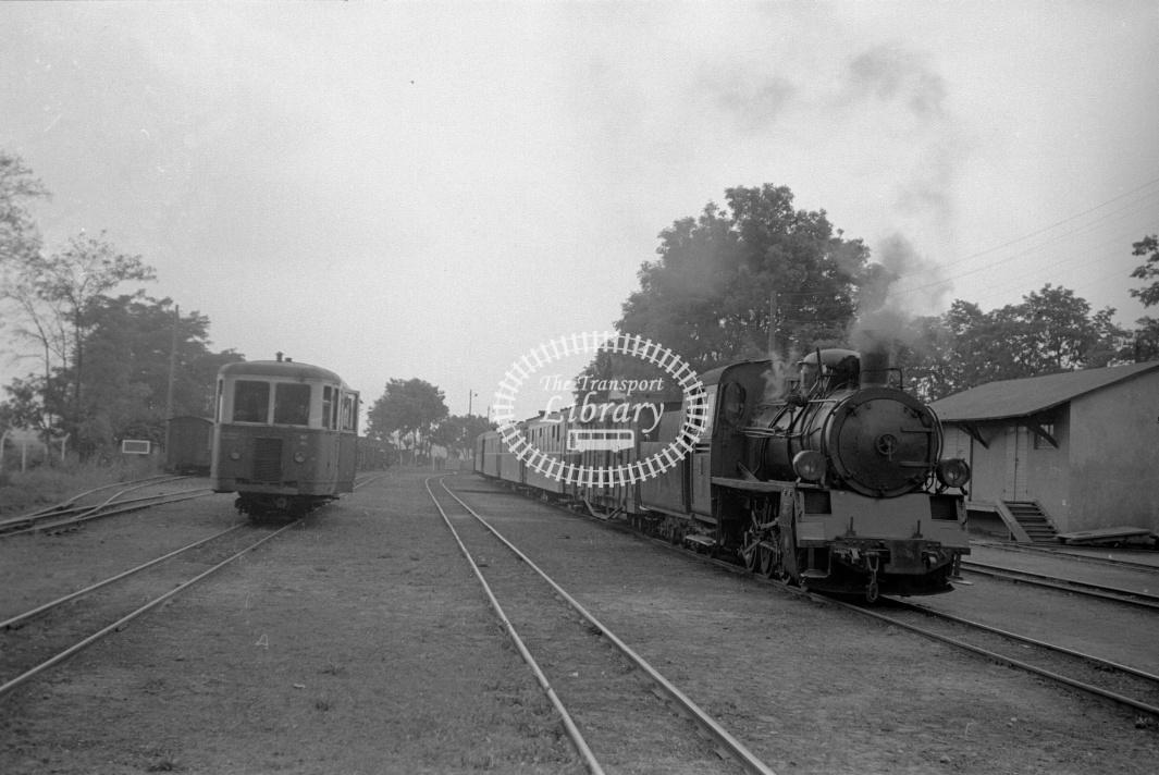 PKP Poland Railways Steam Locomotive Class Px48 Px48 1741  at Bonowie in 1961 - 03/07/1961 - D Trevor Rowe
