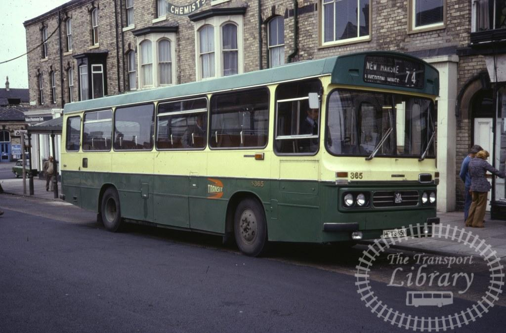 Cleveland Transit Bedford YRQ 365 HPY365N in 1978 on route 74 - Ron Wellings