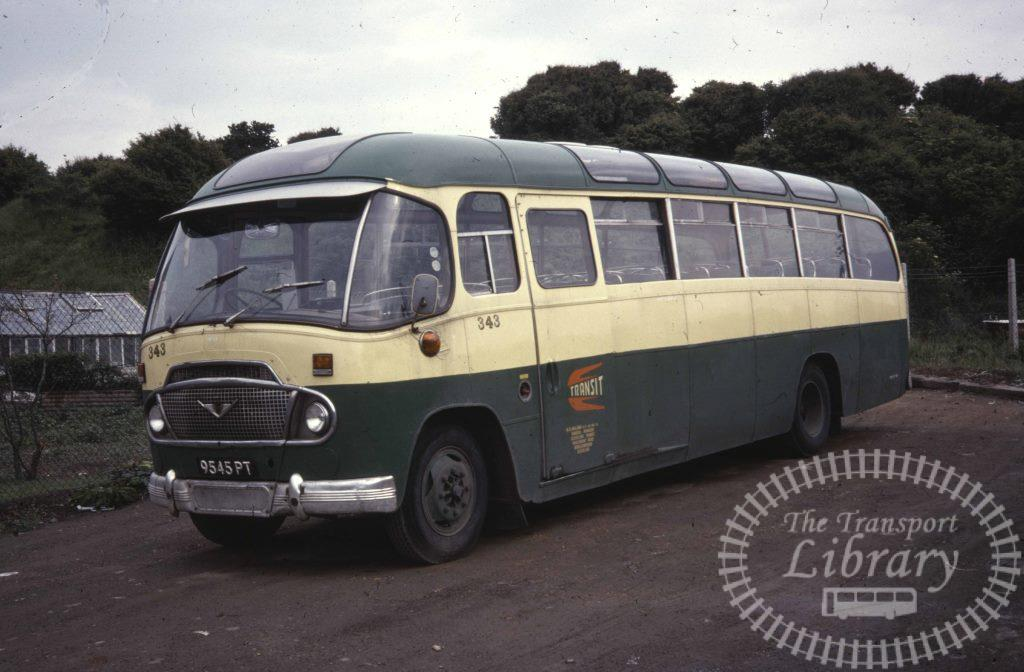 Cleveland Transit Bedford SB5 343 9545PT in 1978 on route Unknown - Ron Wellings
