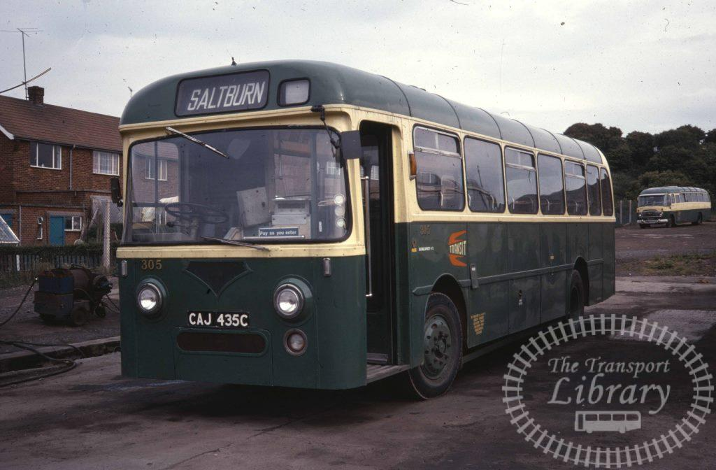 Cleveland Transit Leyland L1 305 CAJ435C in 1978 on route Unknown - Ron Wellings