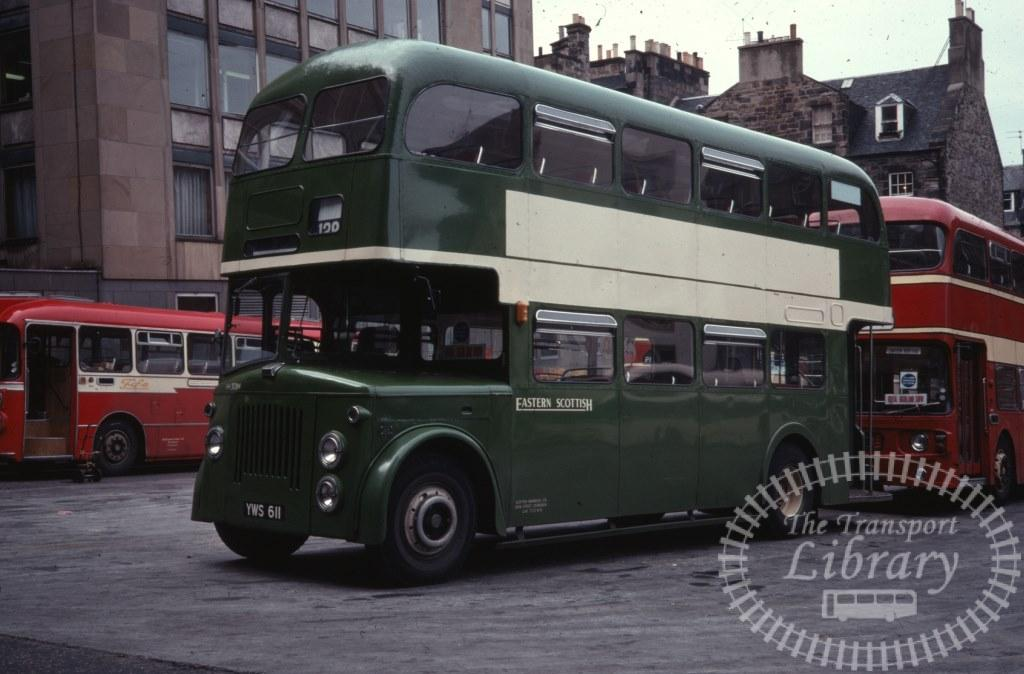 Eastern Scottish Leyland Titan PD2A/30 308 YWS611 in 1978 on route 128 - Ron Wellings