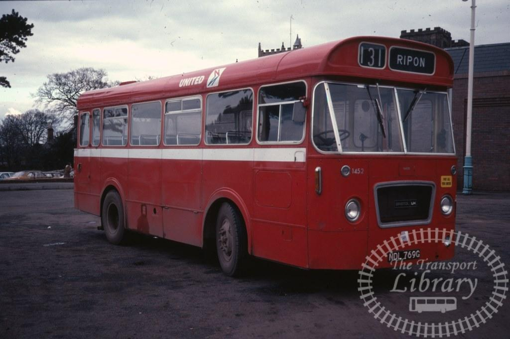 United Bristol LH 1452 NDL769G in 1979 on route 131 - Ron Wellings
